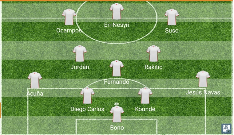 posible once sevilla valladolid