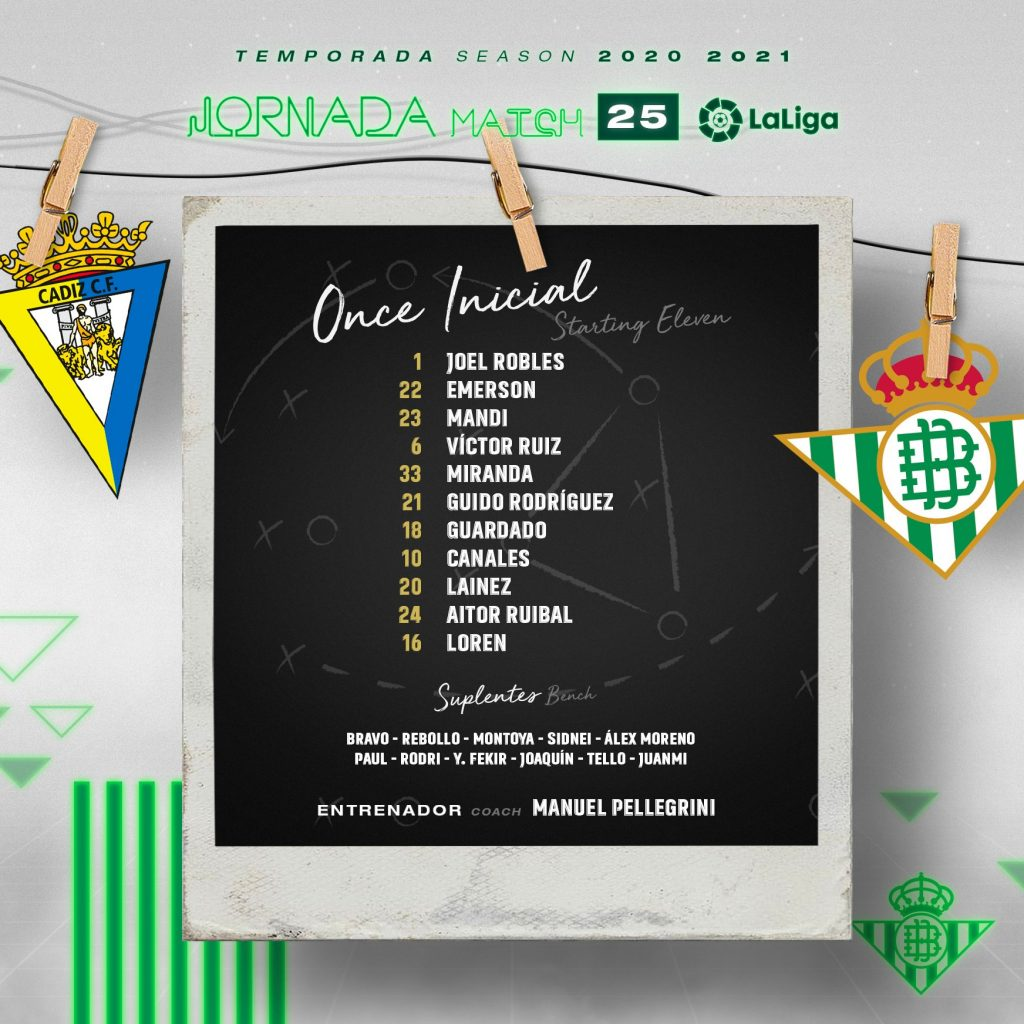 once cadiz real betis